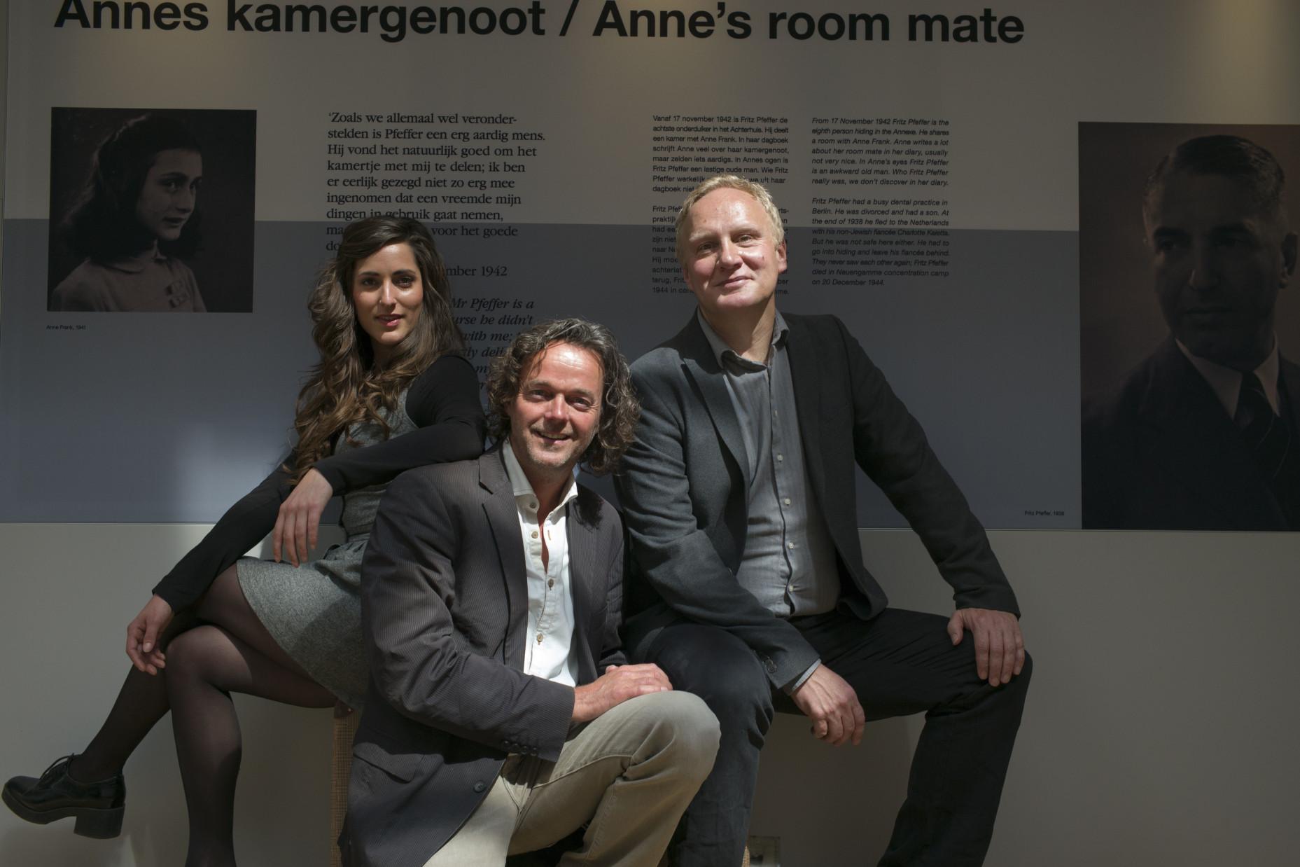 Nieuwe tentoonstelling: Fritz Pfeffer, Annes kamergenoot
